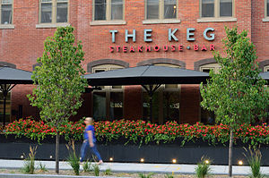 The Keg - The Keg on King Street West in Downtown Toronto's Fashion District.