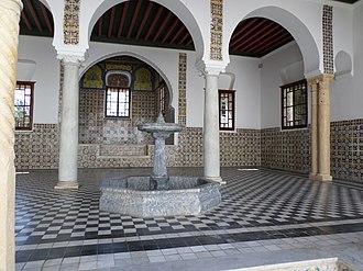 Bardo National Museum (Algiers) - The museum's court