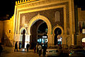 The Blue Gate of Fes at night (5364917784).jpg