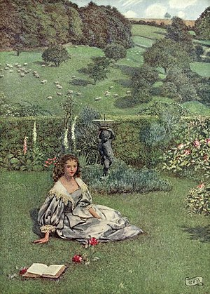 William Browne (poet) - Illustration by Eleanor Fortescue-Brickdale