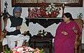 The Chief Minister of Tamil Nadu, Dr. J. Jayalalithaa meeting the Prime Minister, Dr. Manmohan Singh, in Chennai on December 25, 2011.jpg