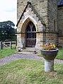 The Church of St Wilfrid, Kirby Knowle - Churchyard - geograph.org.uk - 517058.jpg