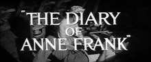 File:The Diary of Anne Frank (1959) - trailer.webm
