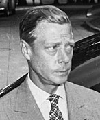 Edward VIII looking to his left