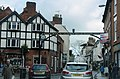 The Green Man And Black's Head Hotel, Attached Inn Sign Bridging Road.jpg