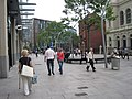 The Hayes looking towards Cardiff library, Cardiff (5900796966).jpg