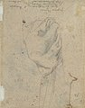 The Head and Shoulders of a Woman in Profile; Separate Studies of Her Head and Ear (recto); Fragment of Drapery Study, Profile of Architectural Molding (verso). MET 2004.293b.jpg