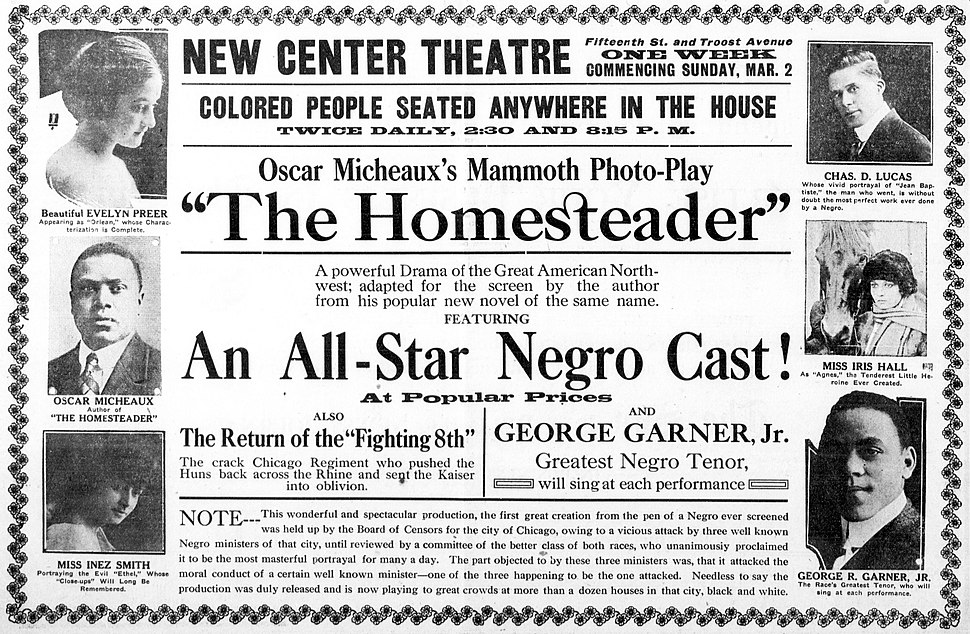 The Homesteader 1919 newspaperad