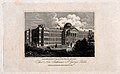 The Hospital of Bethlem (Bedlam), St. George's Fields, Lambe Wellcome V0013725.jpg
