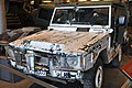 The Iltis LUV had been shot multiple times! (24748023122).jpg