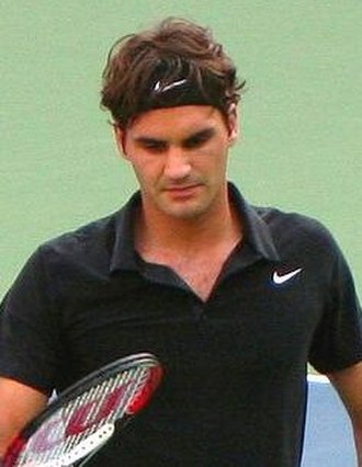 "Roger Federer - Federer was coined ""Darth Federer"" by fans and commentators at the 2007 US Open"