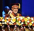 The Minister of State for Health & Family Welfare, Shri Ashwini Kumar Choubey addressing the Convocation of Lady Hardinge Medical College, in New Delhi on May 18, 2018.JPG