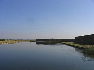 Bernard de Gomme - Image: The Moat, Tilbury Fort, Tilbury, Essex geograph.org.uk 26774