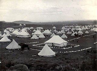 British concentration camps internment camps operated by the British in South Africa during the Second Boer War