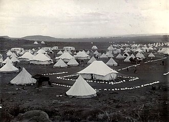 Prisoner-of-war camp - Bloemfontein concentration camp