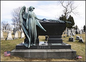 Albany Rural Cemetery - Grave of President Chester A. Arthur