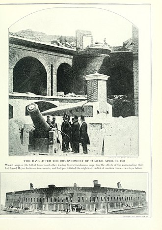 Fort Sumter - Image: The Photographic History of The Civil War Volume 09 Page 046