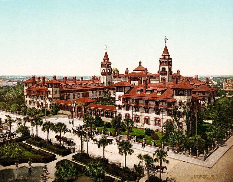 The Ponce de Leon, St. Augustine, Florida, 1902