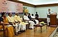 The Prime Minister, Shri Narendra Modi addressing at the release of the Commemorative Postage Stamp on Ramanujacharya, in New Delhi.jpg