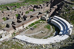 The Roman Theatre of Ancyra, 2nd half of the 1st century AD - beg of the 2nd century AD, Ankara, Turkey (25743828343).jpg