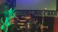 The Stroppers rock band consisting of guitarist Joel Monroe and drummer Jasmina Bonilla.png