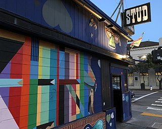 The Stud (bar) gay bar located in South of Market, San Francisco