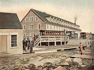 Mount Washington (New Hampshire) - The 2nd Summit House in 1904