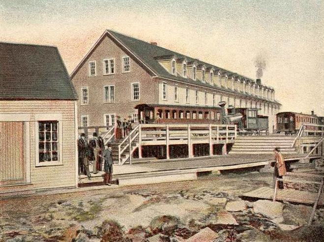 The Summit House, Mount Washington, NH