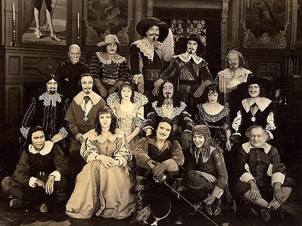 the three musketeers 1921 film wikipedia