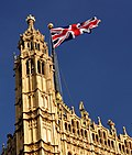 The Union Flag on Victoria Tower.JPG