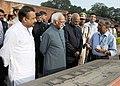The Vice President, Shri M. Hamid Ansari visiting the ancient Nalanda University Ruins, in Nalanda, Bihar (1).jpg