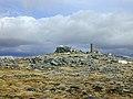 The cairn on Beinn Fhada - geograph.org.uk - 1041845.jpg
