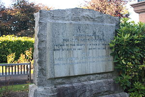 John Mills McCallum - The grave of Sir John McCallum, Woodside Cemetery, Paisley