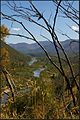 The magnificent Snowy River (post bushfire - the image mapped next to this, is same view, but pre bushfire). Peter Neaum. - panoramio.jpg