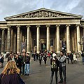 The main entrance of the British Museum, 8 November 2014.jpg