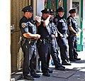 The mighty blue police officers, castro street fair, san francisco (2012) (8075330643).jpg