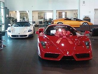 Henderson, Nevada - Lamborghini Las Vegas on Auto Show Drive in Henderson