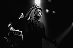 Black Thought - 1999 with The Roots in Hamburg/Germany