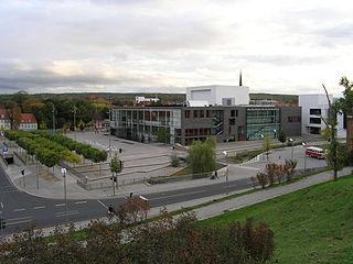Theater Erfurt opera house in Erfurt, Germany