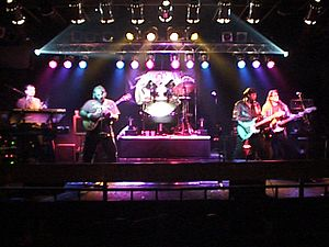 The Rockerz -  The Rockerz on stage in Atlanta (1997) L to R: Mike, Steve F, Wes, Stevie G, JT