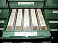 Thin sections collection - IGME core repository.JPG