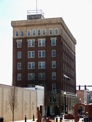 Third National Bank Building - Image: Third National Bank or Commercial Building, Gastonia, NC