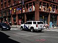 This cop car was blasting its siren on Yonge Street, 2016 07 16 (2).JPG - panoramio.jpg