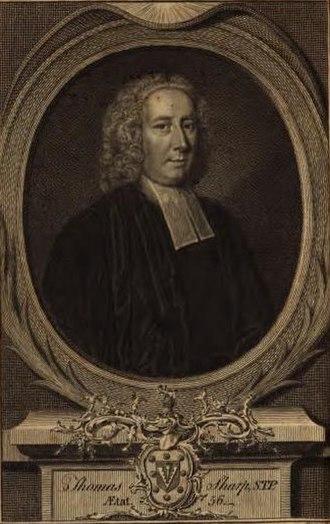 Thomas Sharp (priest) - Thomas Sharp.