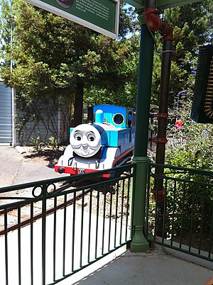 Whistlestop Park - Thomas Town at Six Flags Discovery Kingdom