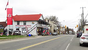 Thornton, Ontario - Barrie Street in Thornton