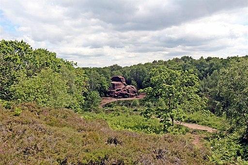 Thors Stone, Thurstaston Common (geograph 2990423)