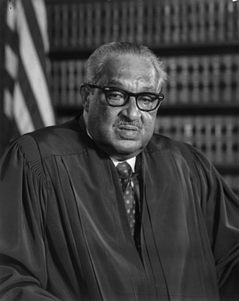 With the appointment of Thurgood Marshall, Johnson placed the first African American on the Supreme Court. Thurgood-marshall-2.jpg
