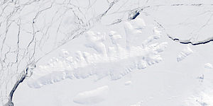 Thurston Island - Satellite image of the island