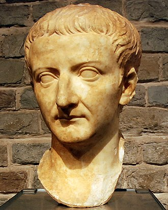 Drusus Julius Caesar - A bust of Tiberius kept in the Romano-Germanic museum in Cologne.